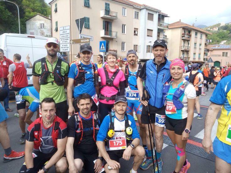 Aschero, Gorrei, Elba Trail. Team Marguareis in tour.