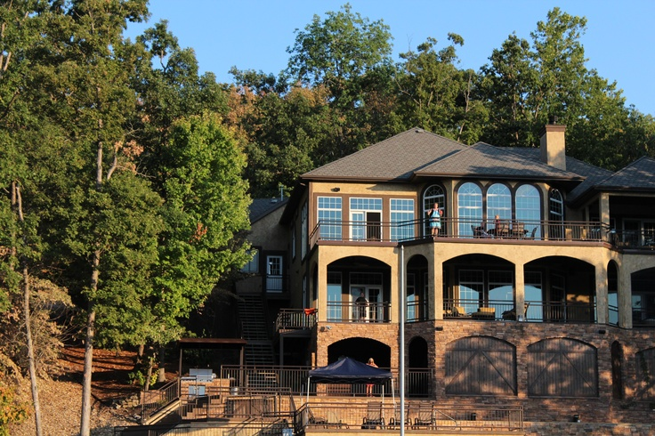 lake of the ozarks vacation house | photography | House ...