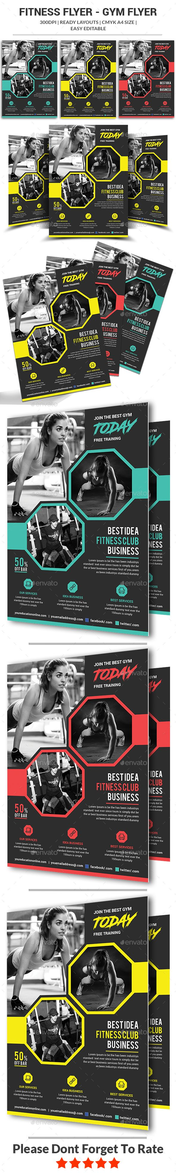 #Fitness #Flyer - Sports Events