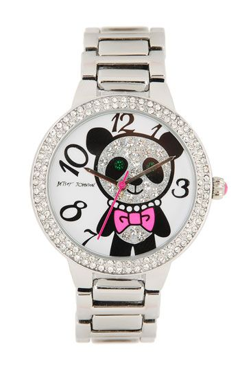 Two of my favorite things...Betsey Johnson and Pandas!