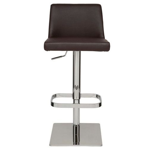 Found it at Wayfair.ca - Rome Adjustable Height Swivel Bar Stool with Cushion