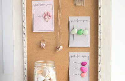 barrettes coquillages (tutoriel gratuit - DIY)