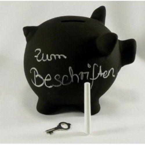 Sparschwein aus Keramik zum Beschriften, Tafellack, Kreidetafel von Pajoma, http://www.amazon.de/dp/B0039UWZKQ/ref=cm_sw_r_pi_dp_Iks1sb0G42E9Z