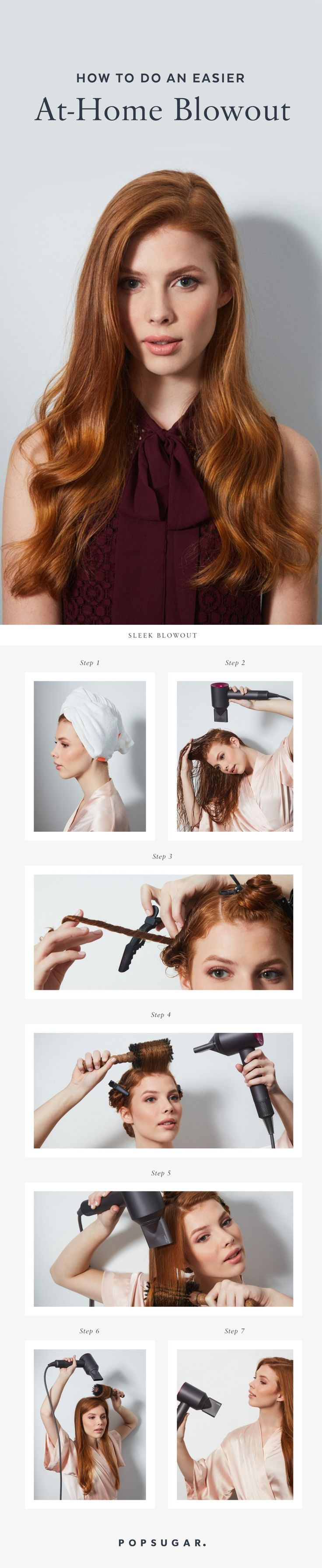 How to achieve a perfectly smooth blowout at home