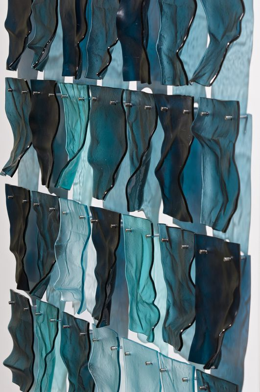 lisa  cahill's kiln-formed glass - 2011