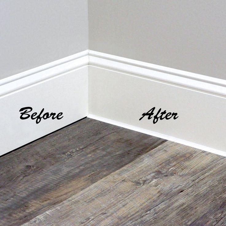 Instatrim Flexible Molding Trim Strips, Flexible Molding For Laminate Flooring