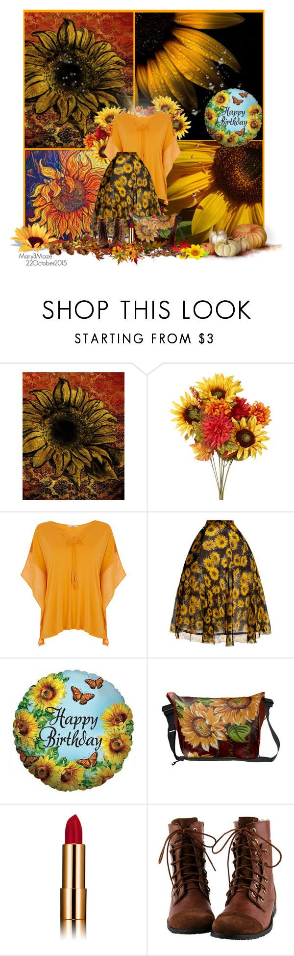 """""""Happy Birthday October Girls - mine is today, 22October"""" by octobermaze ❤ liked on Polyvore featuring WALL, Oasis, Delpozo, birthday, happybirthday and october"""