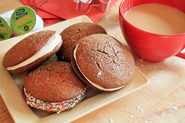 Fair Trade Gingerbread Coffee Whoopie Pies & GiveawayWhoopie Pi