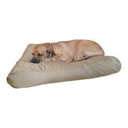 Hondenkussen Nylon Zand/Gold Diverse maten: 80x55cm: Honden tot 20 kilo 100x75cm: Honden 15-40 kilo 125x90cm: Grote honden. Luxe hondenkussen trendy met opstaande rand, afritsbare hoes en gevuild met EPS korrels.( polystireenkorrels) EPS korrels zijn reukvrij, vlovrij en heerlijk voor de hond om op te liggen.