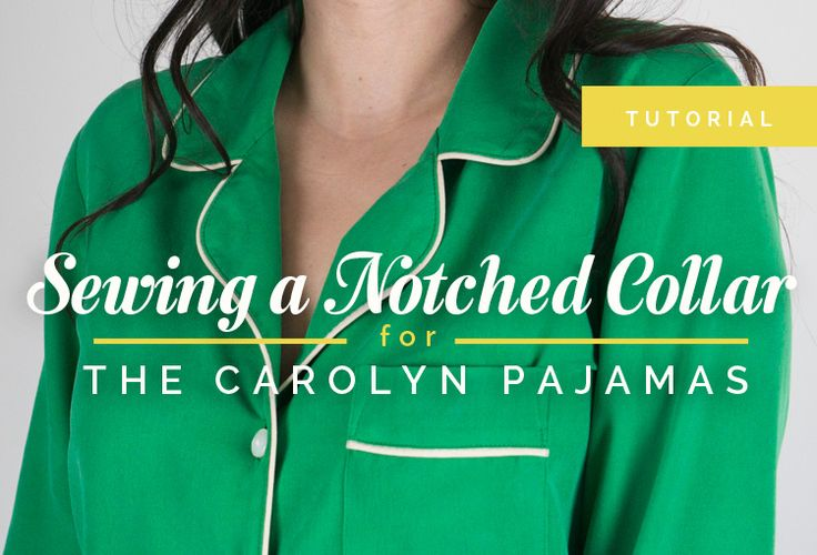 Tutorial: Sewing a Notched Collar | http://closetcasefiles.com/sewing-notched-collar-tutorial/