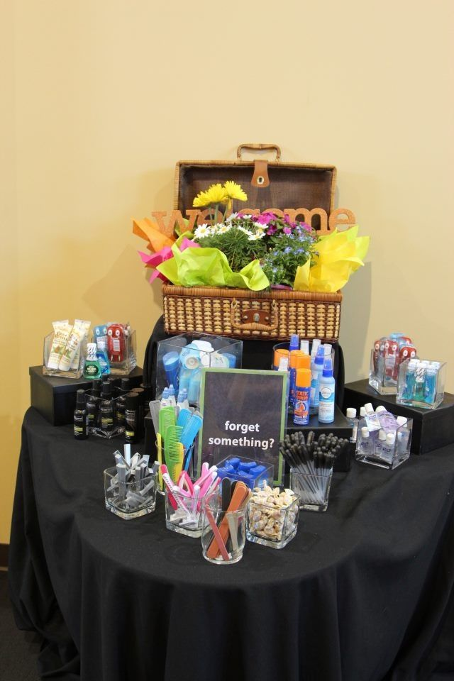 Love this idea for a Ladies conference/retreat!