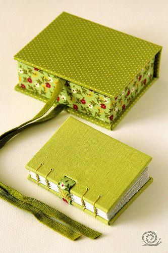 beautiful books! I love the binding!