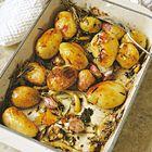 Een heerlijk recept: Aardappelen uit de oven met citroen rozemarijn en tijm
