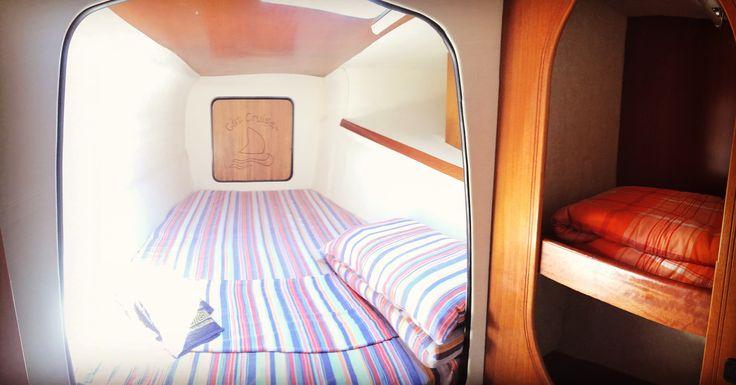 In modalità #charter le nostre cabine hanno questi allestimenti 👍🏻 #noleggioCatamarano #catamaranoInEsclusiva #crocieraInEsclusiva #vacanzaEsclusiva #catamaranoAsinara