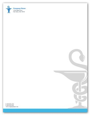 Your Trusted Pharmacy Letterhead - Letter Size - 8.5 x 11 - Front side