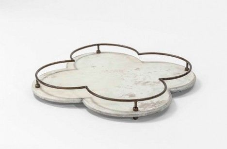 Decorative Gabby Serving Trays for Holiday Parties