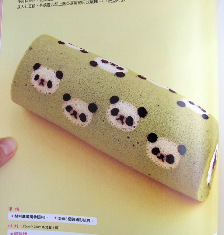 Decorated swiss roll cake recipe
