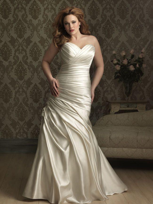 Summer wedding dresses plus size