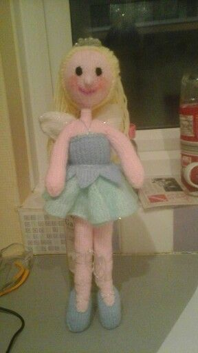 Knitted fairy