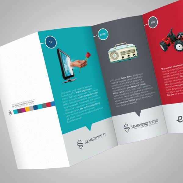 Best  Examples Of Brochures Ideas On   Editorial