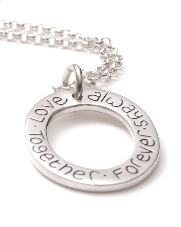 Cluster Ring Necklace