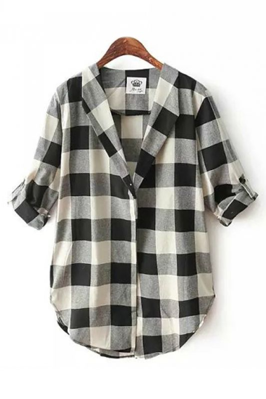 I love tops like these. I already have a few flannel plaids for every day wear. Maybe something slightly nicer for Sunday's?