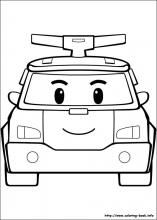 Robocar Poli coloring pages on Coloring-Book.info