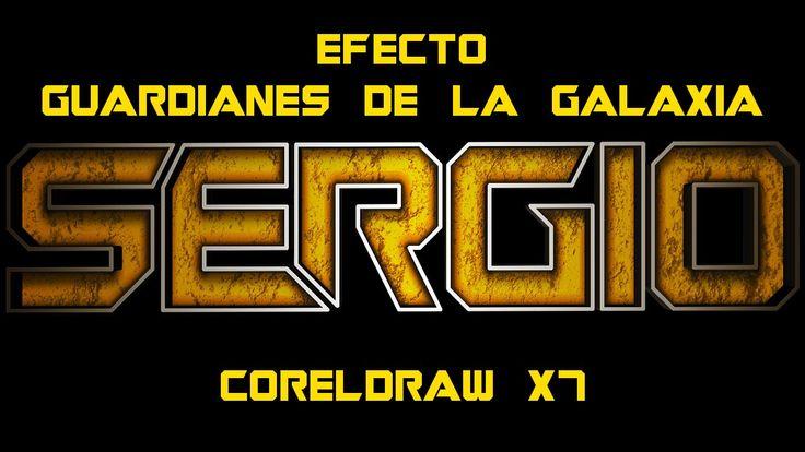 Tutorial Guardines de la Galaxia en CorelDRAW X7