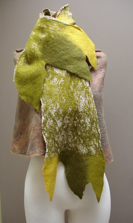 felt scarfe Beckie Galanopoulou