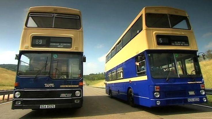 Drifting Double Decker Buses - Fifth Gear