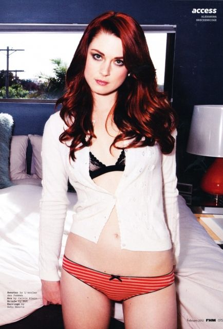 Alexandra Breckenridge - Young Moira on the first season of American Horror Story