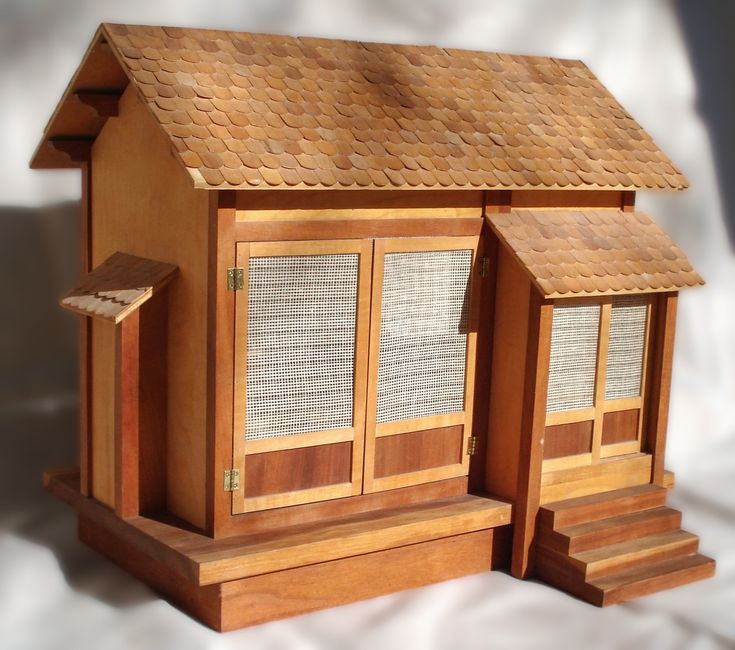 Japanese Doll House By Russell Mcrae Detailed Traditional