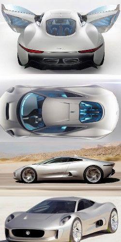 Jaguar CX75 Concept 2014  http://www.muchocars.com/jaguar-cx75-concept-2014.html