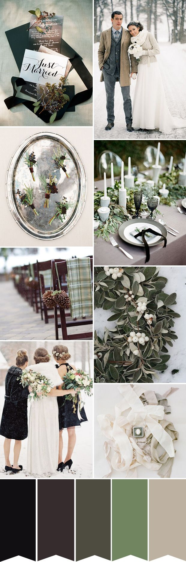 Rustic Glam in Winter - the Perfect Classic Wedding