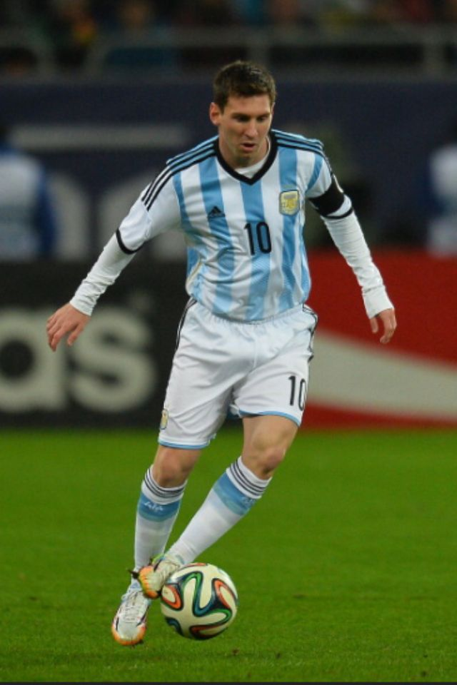 Lionel Messi -ArgentinaTE RE BANCO LIO!!!!!!!!!!
