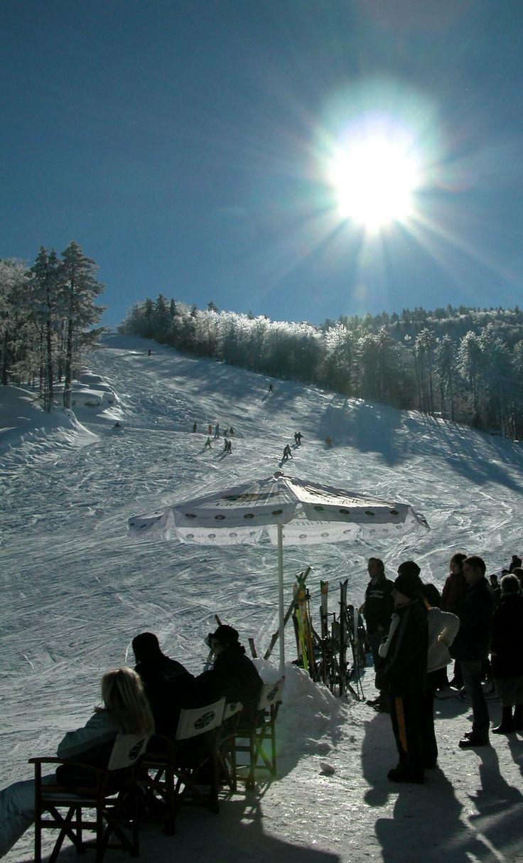 Ski Center.. Elatochori, Pieria, Greece