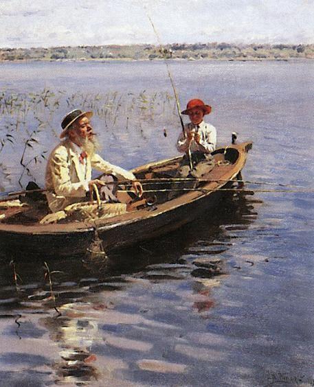 Владимир Маковский Рыбак. Финляндия 1899 г