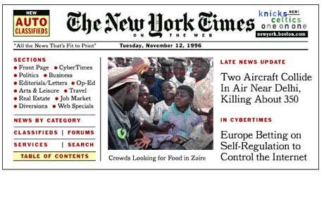 New York Times, 1995.