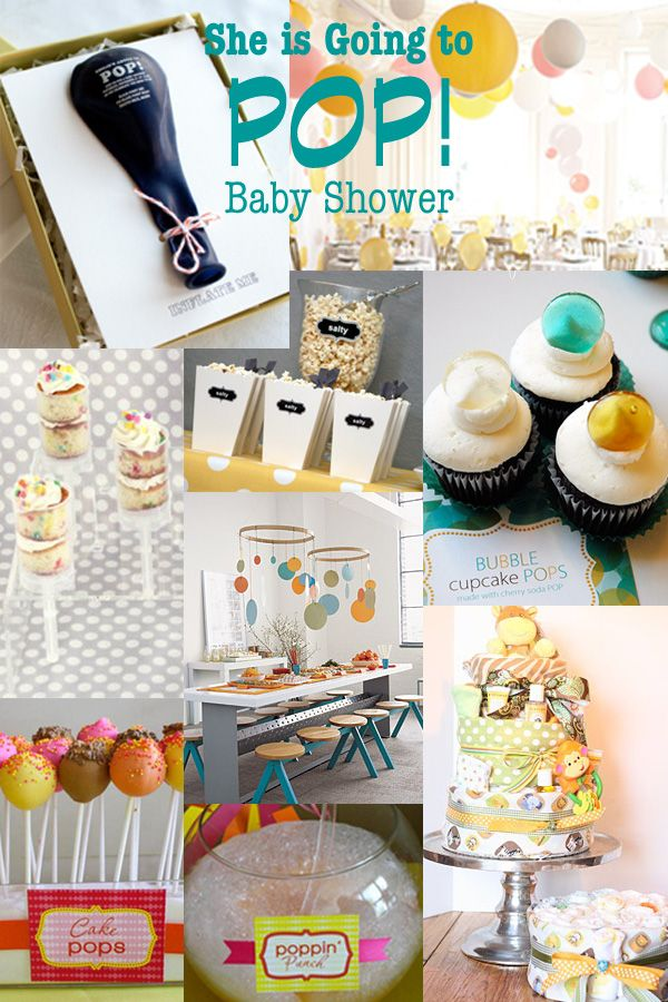 I JUST did a baby shower for my sister... I wish I would have came across this idea before! I will have to rember this theme! Very cute!