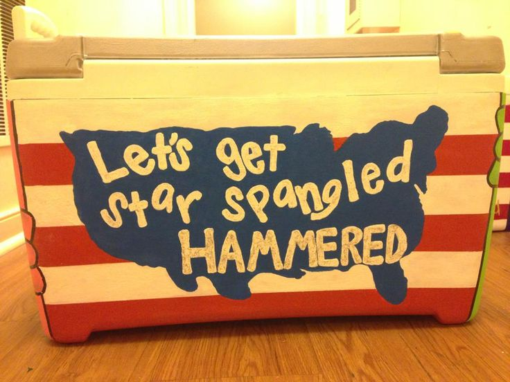 I like this idea for a cooler too, but I'm not sure that my other sisters will approve. Oh well, screw that. I love it.