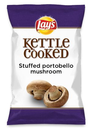 Wouldn't Stuffed portobello mushroom be yummy as a chip? Lay's Do Us A Flavor is back, and the search is on for the yummiest chip idea. Create one using your favorite flavors from around the country and you could win $1 million! https://www.dousaflavor.com See Rules.