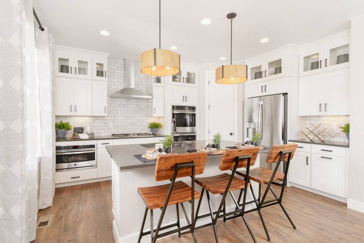 Do you prefer kitchen cabinets that extend all the way to ...