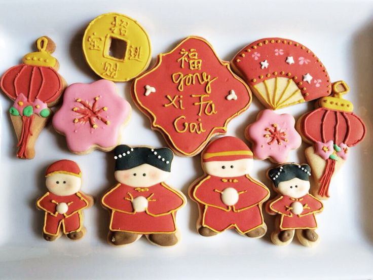 Royal Icing Chinese New Year CNY cookies