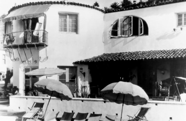 Louis B Mayer Santa Monica beach house.Later Peter Lawford house.