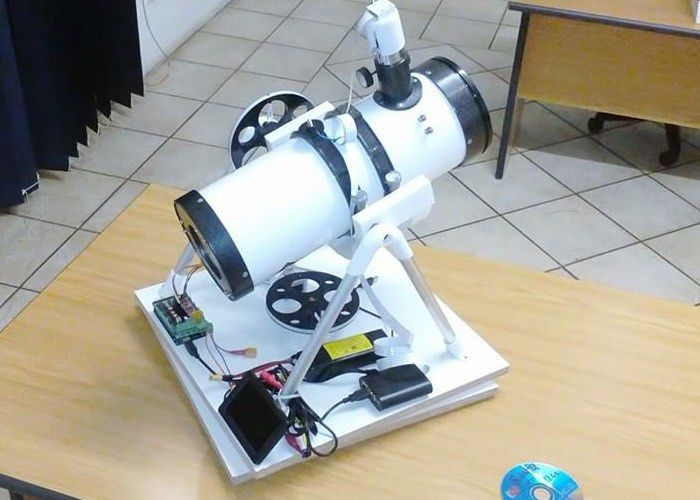 The PiScope is an optical tracking telescope developed by Toby Kurien, constructed using a miniature Raspberry Pi computer in addition to a variety of 3D printed parts. It makes astro-photography much more affordable!