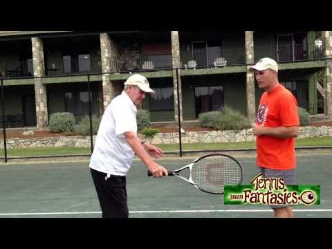 Tennis Tips: Roy Emerson Shows Us How to Hit a Slice Backhand - YouTube
