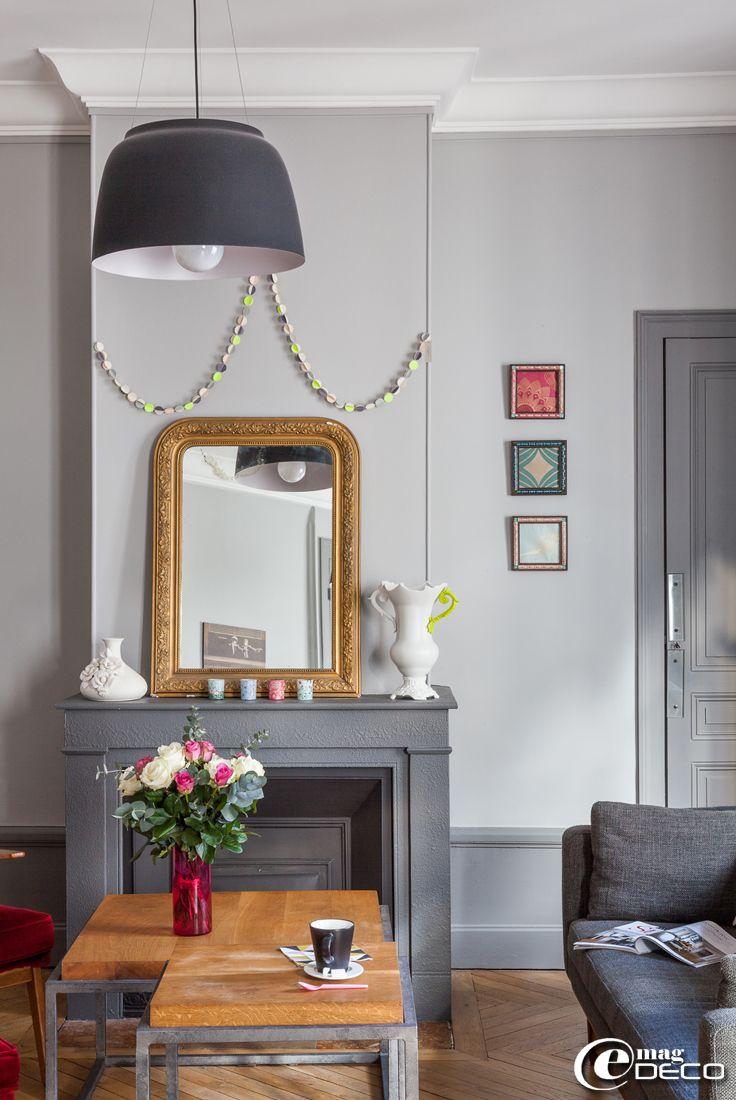 Un appartement trendy à Lyon, un reportage du magazine de décoration e-magDECO