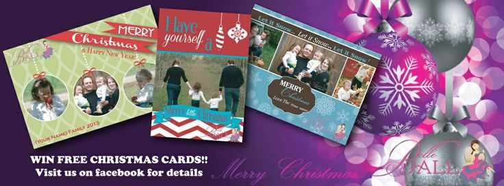**** WIN 25 FREE PERSONALIZED CHRISTMAS CARDS ****