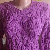 Купить или заказать Свитер мужской. Ручная работа. в интернет-магазине на Ярмарке Мастеров. Нарядный мужской свитер. Связан из пряжи хорошего качества. Полушерсть. Очень теплый. Могу повторить в любом цвете и в любом размере. Моя авторская работа.