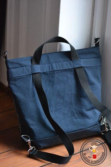 Eine Herausforderung: Rucksacktasche Multibag 3 in 1 Tasche ~ Kleine Schneiderin